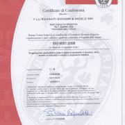 CERT ISO9001-2008