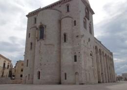Panoramica della cattedrali di Trani